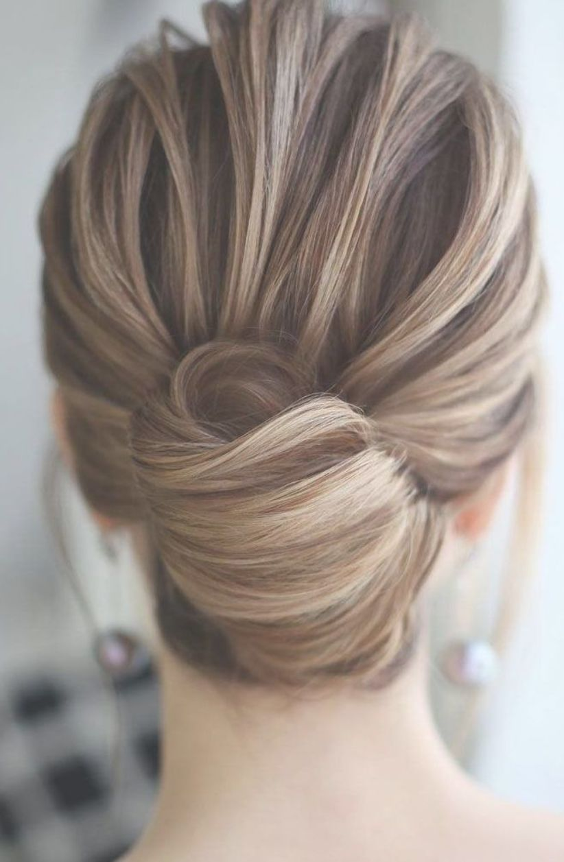 Sophisticated Simple French Twist Elegant Updo Hairstyles Updo Wedding Wedding Hairstyle Bride Updo Easy Bun Hairstyles Bun Hairstyles Easy Hairstyles