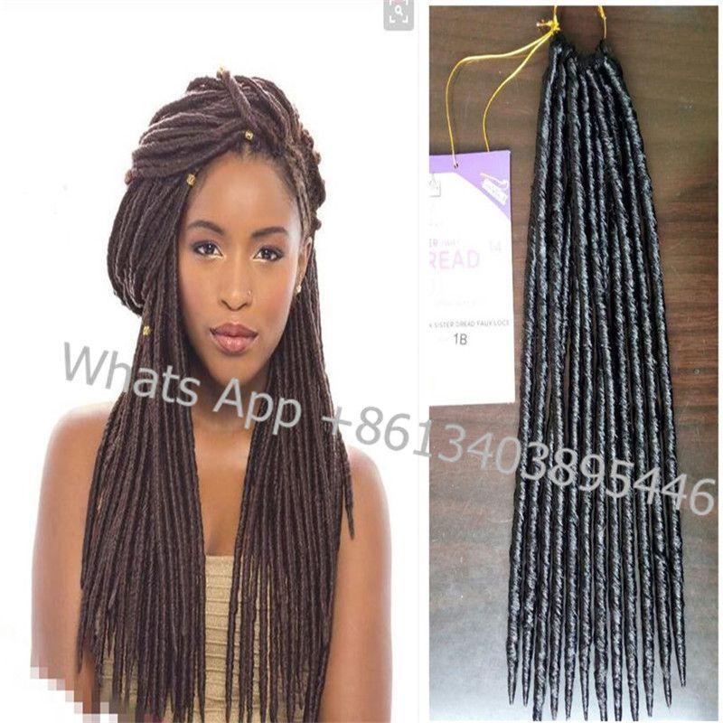 Dreadlocks weave extension 14inch 24strandspack soft dread dreadlocks weave extension 14inch 24strandspack soft dread braided hair pmusecretfo Choice Image