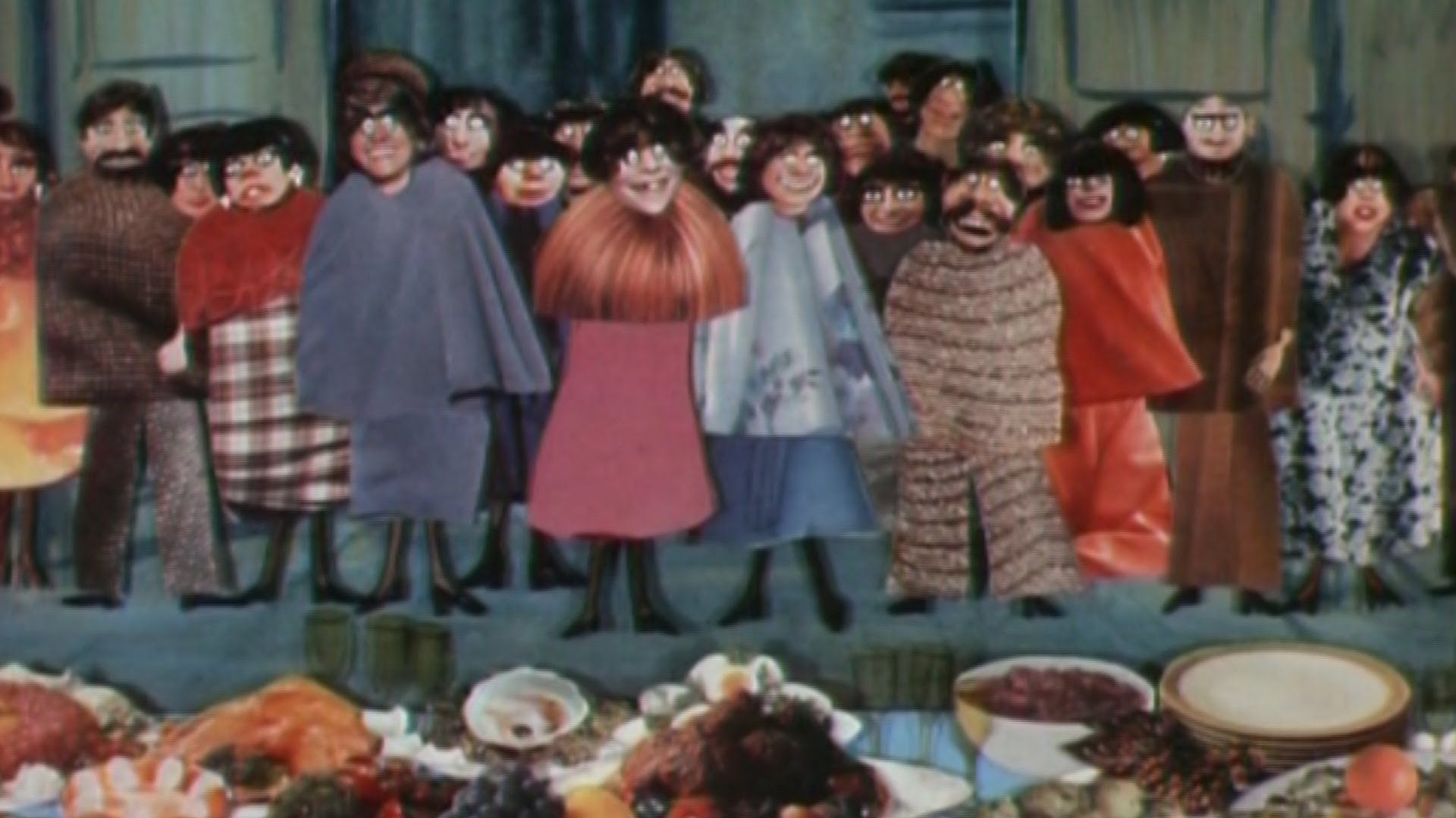 Brilliant Animation About A Banquet Animation Painting Film