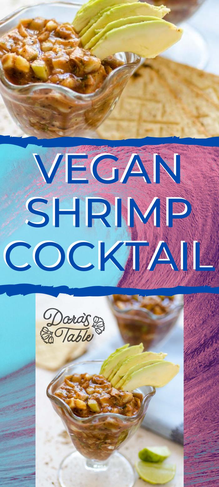 Vegan Shrimp Cocktail In 2020 Vegan Shrimp Mexican Shrimp Cocktail Vegan Appetizers Recipes