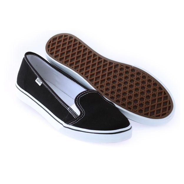 8c4c8da7afafca Vans Slip On KVD Slim Sole Womens Shoes Canvas Black White Red Sizes 5-10   Vans  Skateboarding