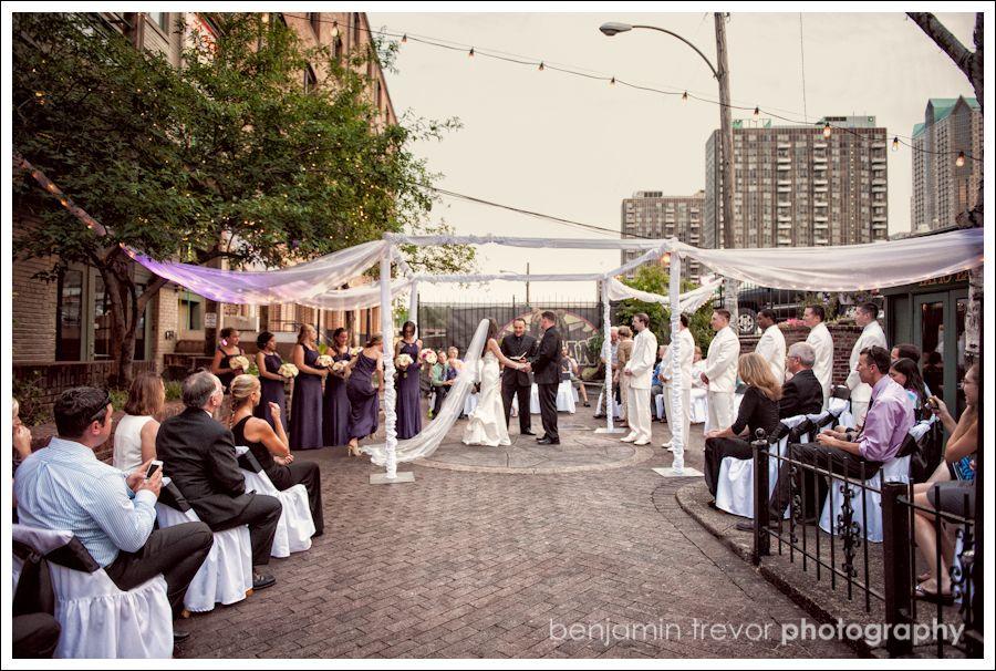 Morgan Street Brewery Wedding In Laclede S Landing St Louis