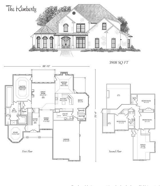 The Kimberly Stoneridge Homes Huntsville Al Custom Home Builders And Madison County Alabama