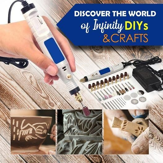 This mini grinder kit brings out the deep inner artist in you!😍😍😍Easily create awesome DIYs and crafts now! 👏