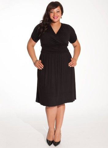 Plus Size #LBD  #bbw #curvy #fullfigured #plussize #thick #beautiful #fashionista #style #fashion #shop #online www.curvaliciousclothes.com TAKE 15% OFF Use code: TAKE15 at checkout