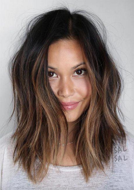 Mittellange Frisuren Für Damen Haare Einfache Frisuren