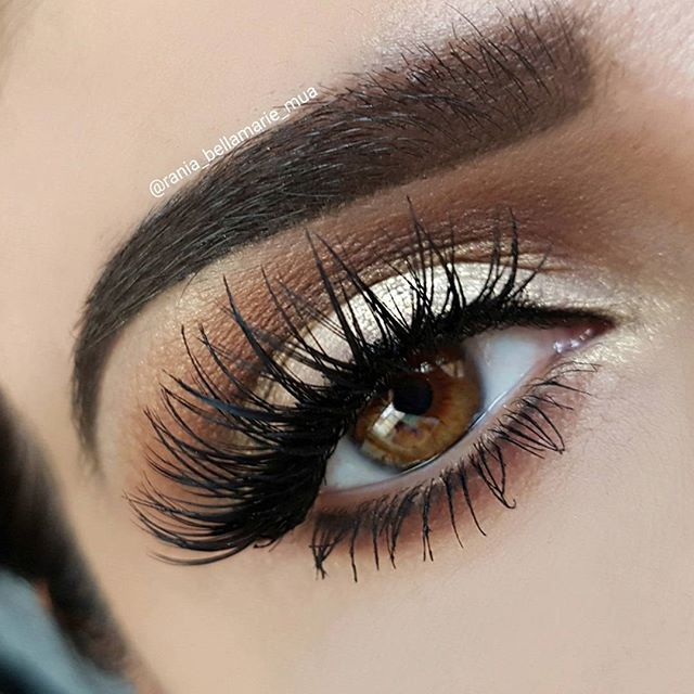 Lashes for days... (*Click Pic for MU Details) @rania_bellamarie_mua.