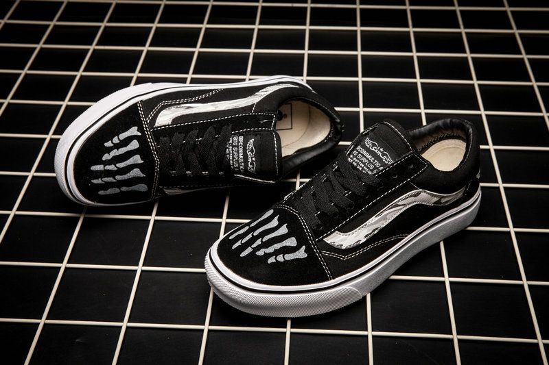 8b77010c8b Vans Old Skool Ghost Bones Skateboard Shoe Vans For Sale  Vans ...