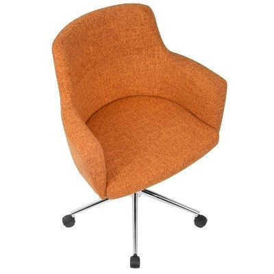 Orange office furniture Furniture Sale Lumisource Andrew Contemporary Adjustable Office Chair Orange Pinterest Lumisource Andrew Contemporary Adjustable Office Chair Orange