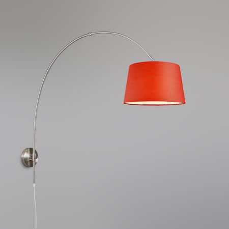 mix 39 n match wandbogenleuchte schirm30cm rund stellen sie ihre leuchte selbst zusammen sie. Black Bedroom Furniture Sets. Home Design Ideas