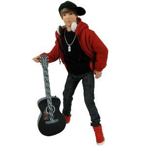 Justin Bieber Style and Singing Dolls Complete Set of 5 from Justin Bieber