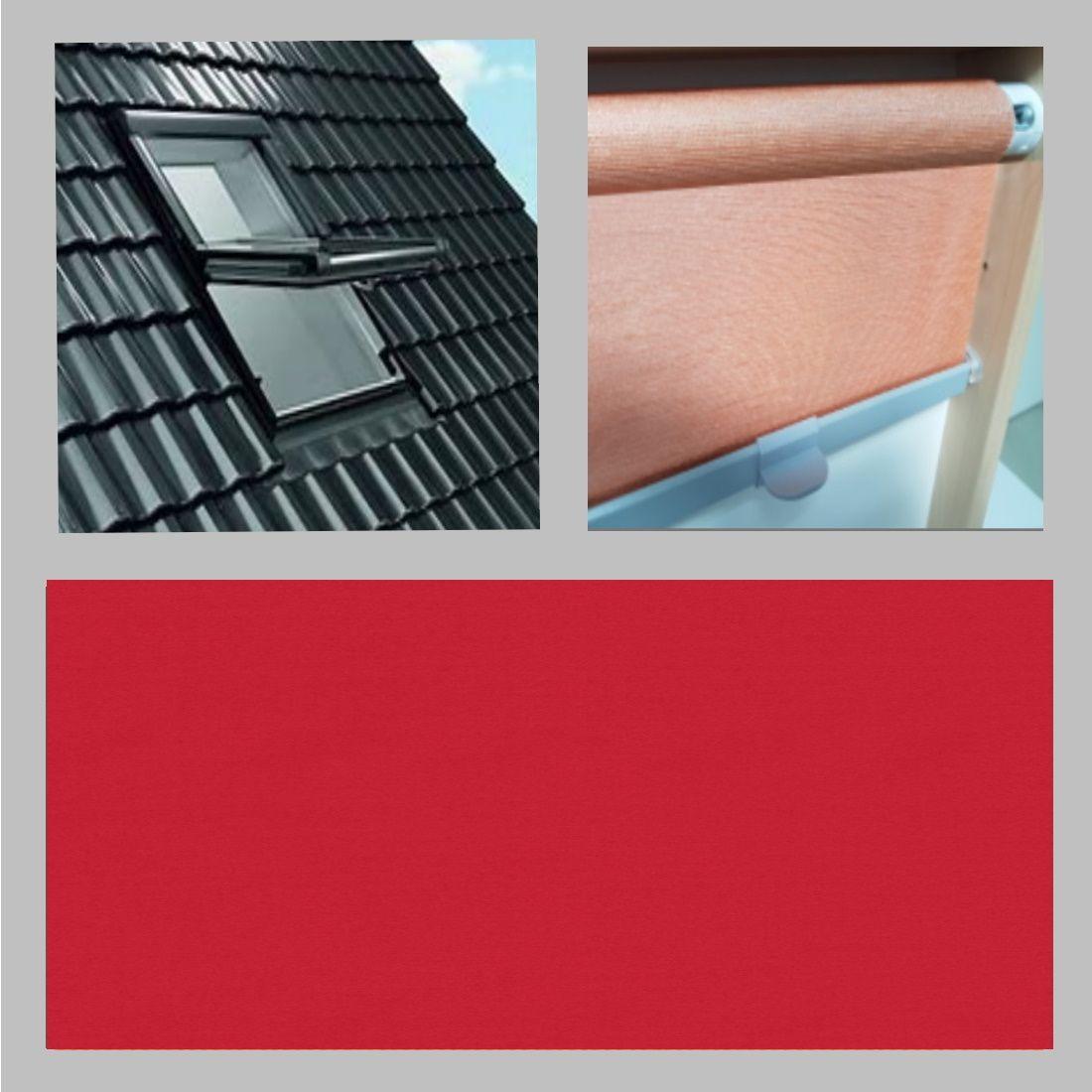 Thermo-Abdunkelung für FAKRO Dachfenster. Basic-Rollo - einfach aber gut!  Wir sind Experten für Dachfensterrollos