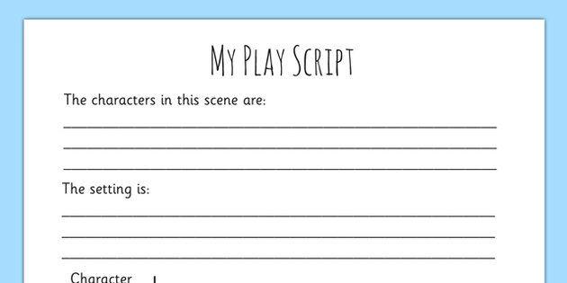 Pin by Nesrine Fathi on school work | Role play scripts ...