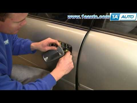 How To Install Replace Front Outside Door Handle Toyota Camry 92 96 1aauto Com Toyota Camry Camry Toyota