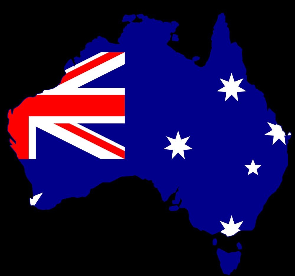 flag silhouette australia clipart illustrations pinterest rh pinterest ie australia clipart free australia clipart black and white