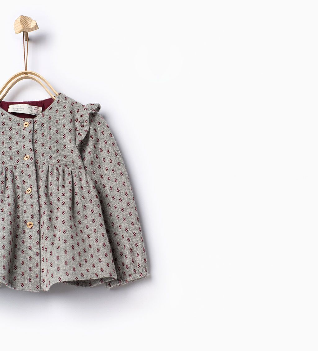 Frills Shirt Tops Baby Girl 3 Months 3 Years Kids Sale Zara Canada Anak