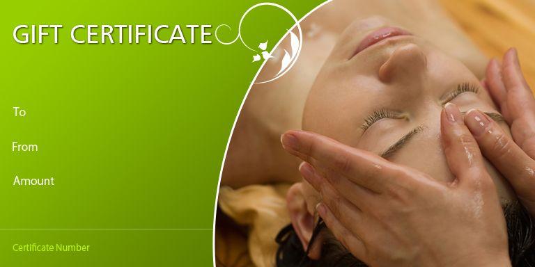 Massage Gift Certificate Template Blissful Massage Massage Gift