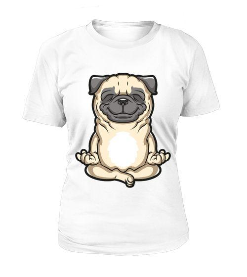 Meditating Pug Shirt