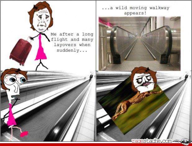 Funny Meme Rage Comics Tumblr : Moving walkway rage comics walkways rage comics