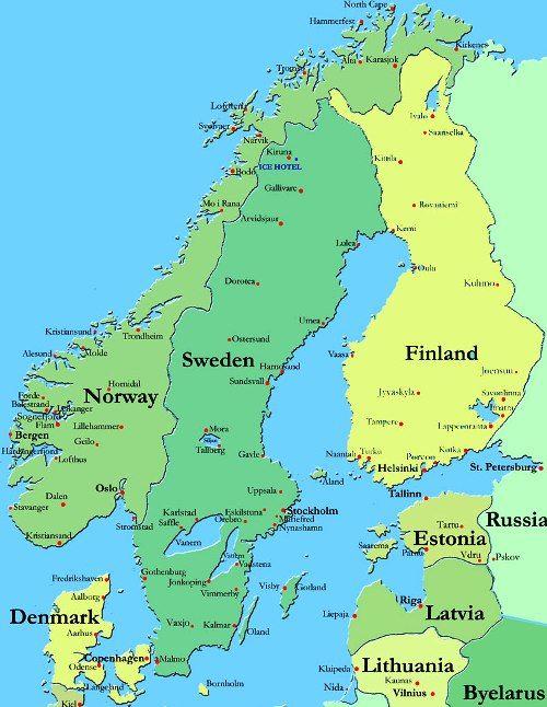 Scandinavian Cuisine Scandinavia Norway Nordic Countries