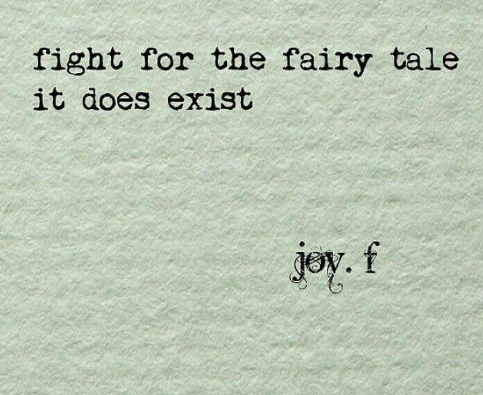 Dont Settle for a Fairy Tale: Part Two