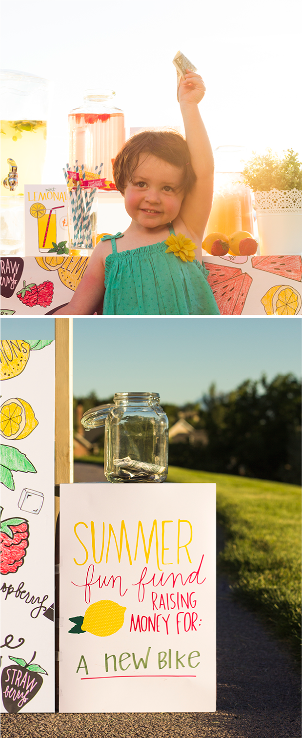 Everything You Need For The Coolest Lemonade stand ever + its a DIY :)