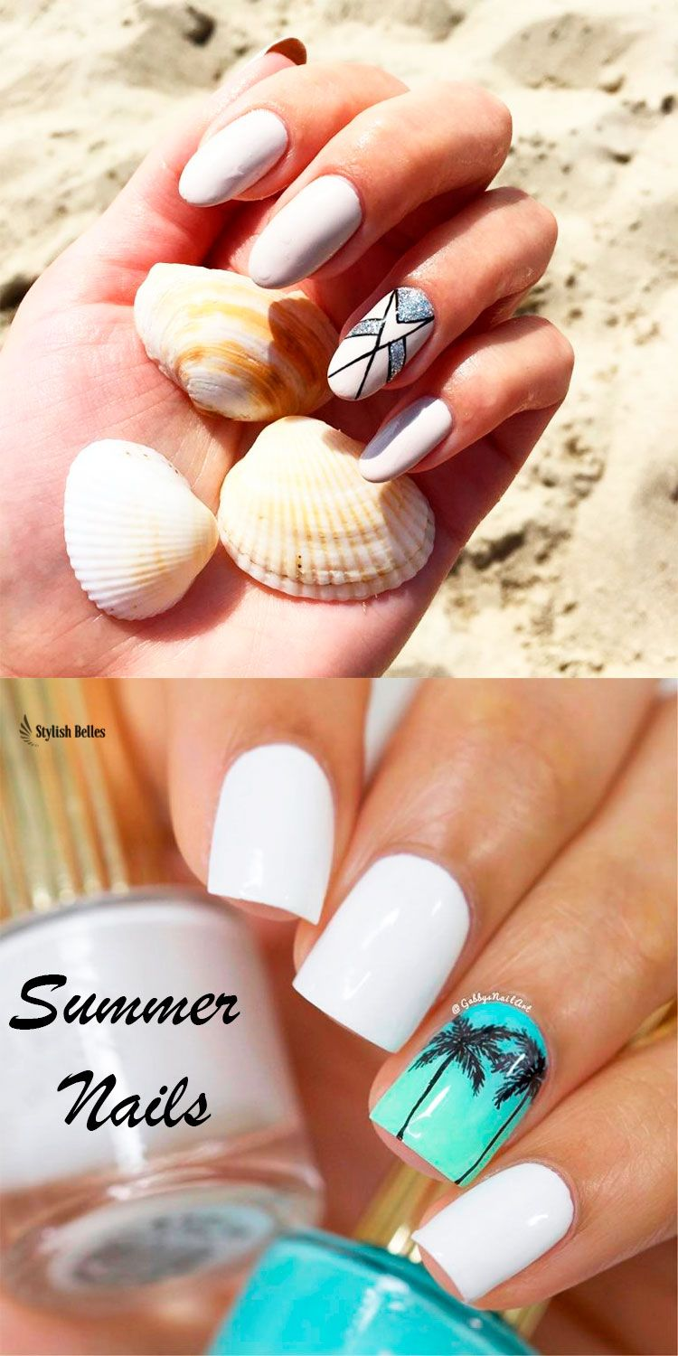Amazing White Summer Nails Worth Trying Nail Designs Summer