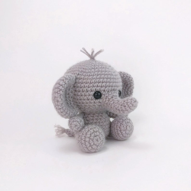 Amigurumi Elephant Patterns – Free Amigurumi Crochet ... | 794x794