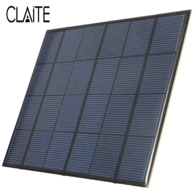 Hot Sale 3 5w 6v 583ma Monocrystalline Silicon Epoxy Mini Solar Panel Diy Solar Module System Solar Cells Battery Phone Charger Mini Solar Panel Solar Panels Diy Solar