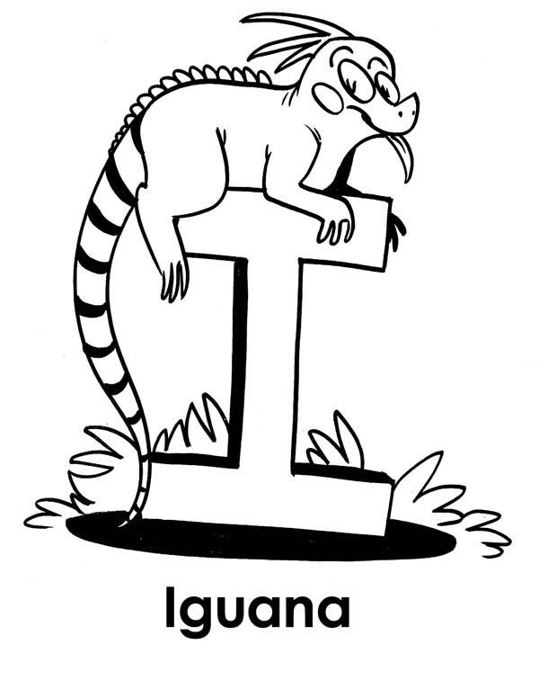 Pin oleh ColorNimbus di Iguana Coloring Pages (Dengan gambar)