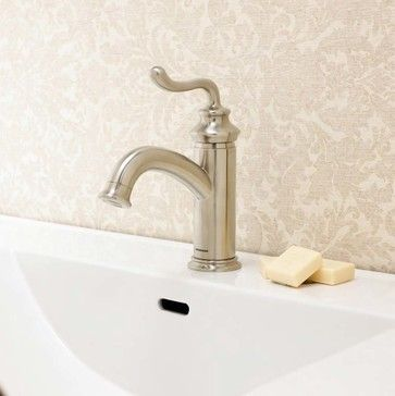 Rega Single Lever Bathroom Faucet Traditional Bathroom