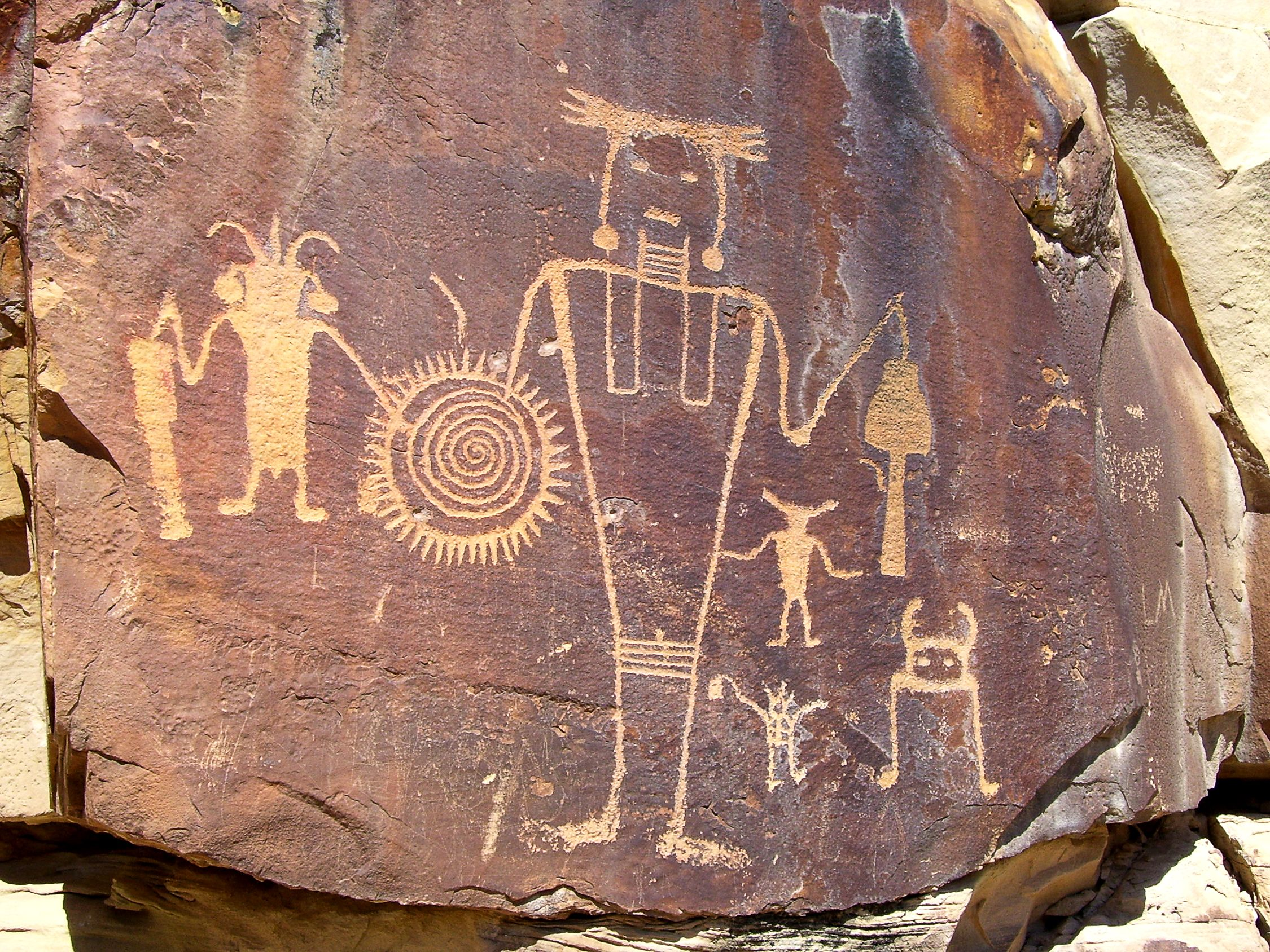 Petroglyphs, Pictographs, and a Geoglyph Rock Art of the