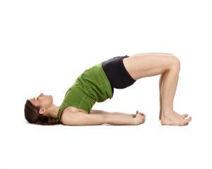 Challenge your butt muscles to some bridge!: Hip Bridge Exercise - Give Your Shoulders and Back a Stretch