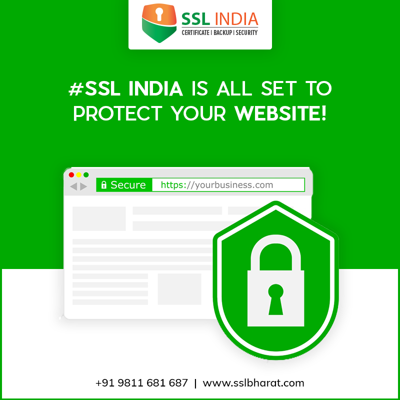 Ssl India Is All Set To Protect Your Website Get The Dv Ov Ev