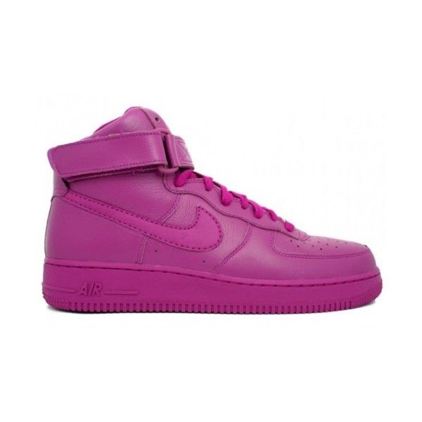 size 40 ff375 ba1ad Nike WMNS Air Force 1 High QK Color Pack ❤ liked on Polyvore featuring  shoes, sneakers, nike, shoes., nike footwear, nike trainers, nike shoes y  nike ...