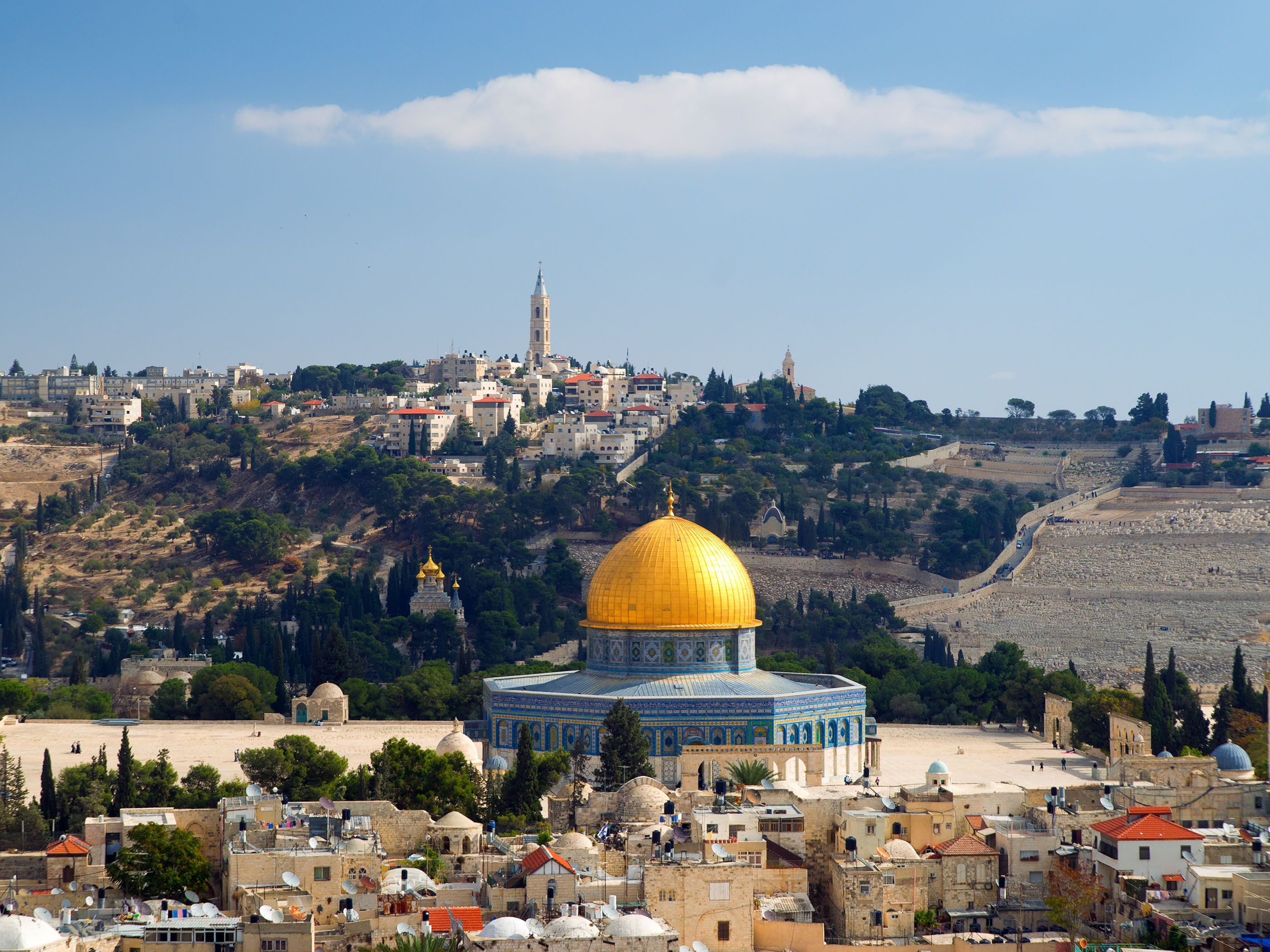 Israel Jerum Dome Of The Rock Wallpapers