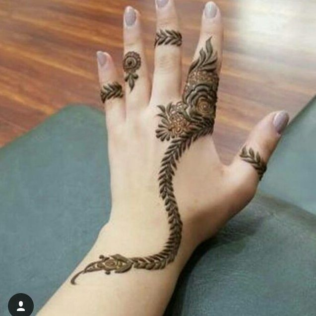 25 Magnificent Henna Cuff Designs For Inspiration: 252 Mentions J'aime, 2 Commentaires