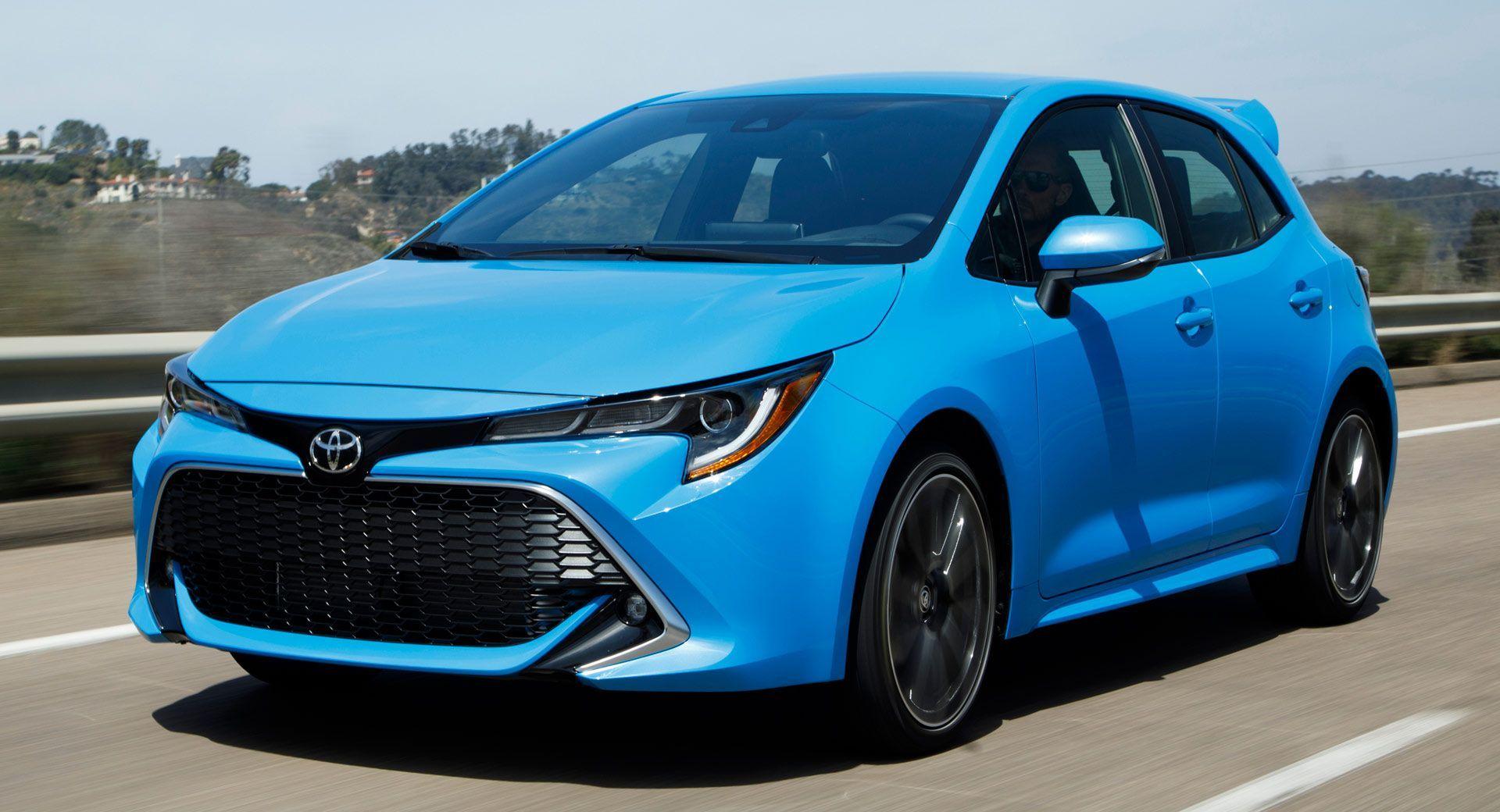 2019 Toyota Corolla Hatchback Starts Just Under 20k Toyota Corolla Hatchback Corolla Hatchback Corolla Car