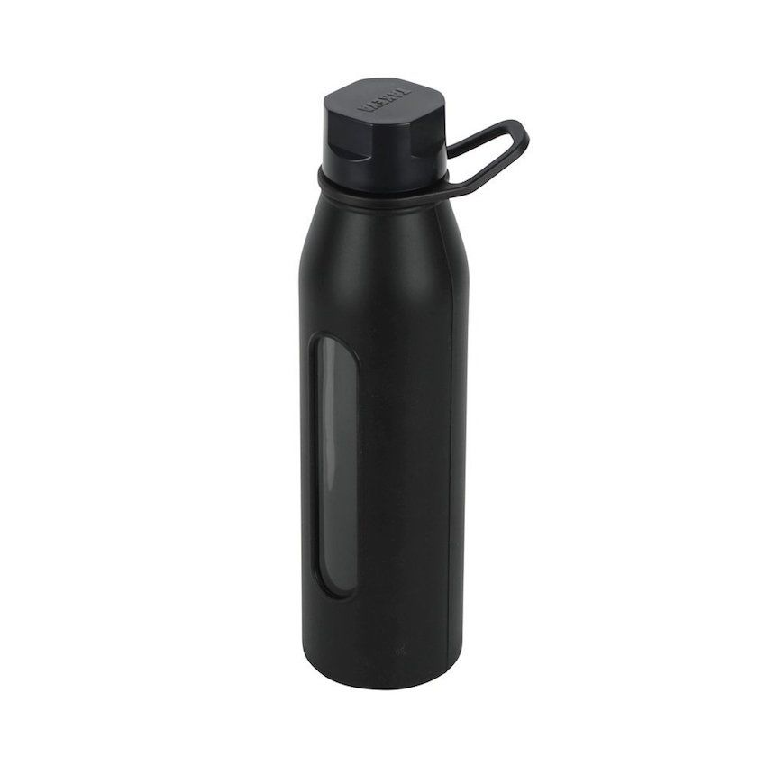 Classic Glass Water Bottle with Silicone Sleeve