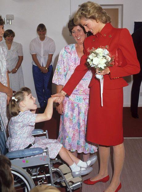 Charity Work of Princess Diana