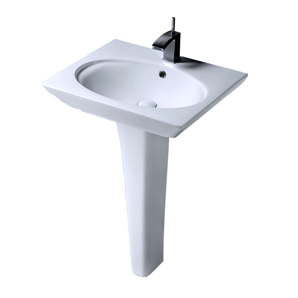 Barclay Products Aristocrat Pedestal Lavatory Combo Bathroom Sink