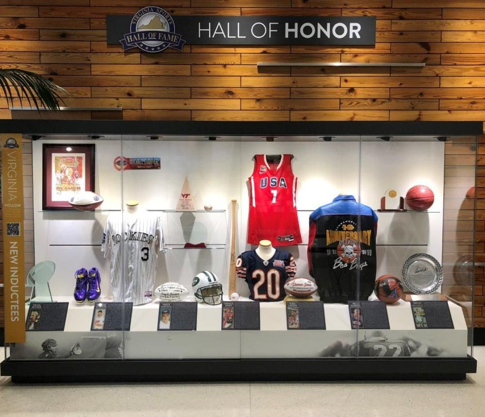 Virginia Sports Hall of Fame Indoor Attractions in