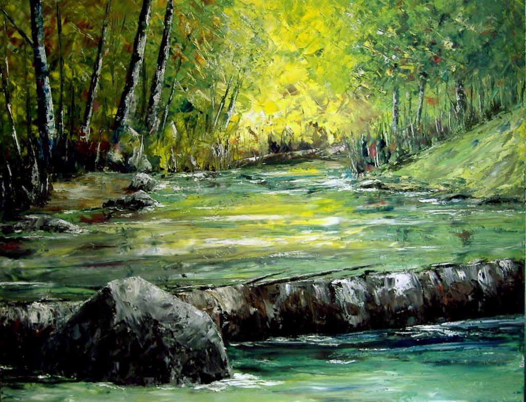 Las pinturas de paisajes al oleo son muy utilizadas en la for Decoracion y paisaje s a