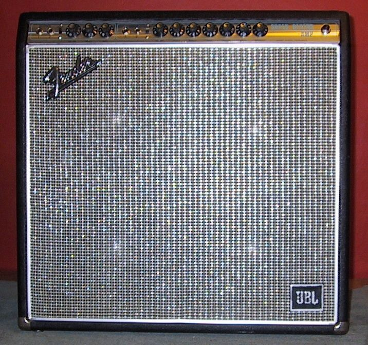 1968 Fender Super Reverb With JBL Speakers And Logo I Wonder How This Unique Sounds