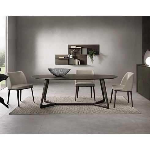 Pacini e Cappellini Cover Oval Dining Table - 220 CM x 100 CM ...