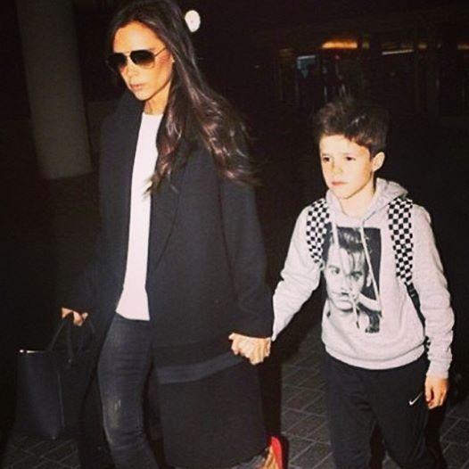 Cruz Beckham l Johnny Depp Moustache hoodie #littleelevenparis #victoriabeckham