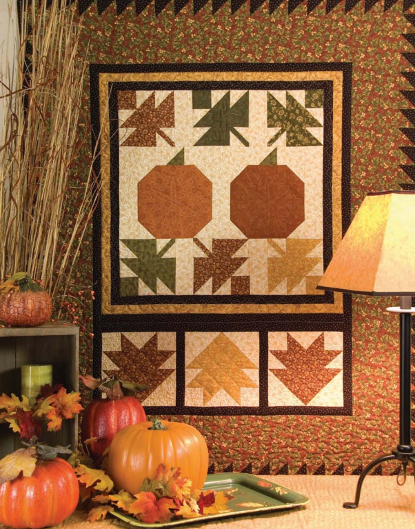 5 Free Fall and Halloween Quilt Patterns |  ... : free autumn quilt patterns - Adamdwight.com
