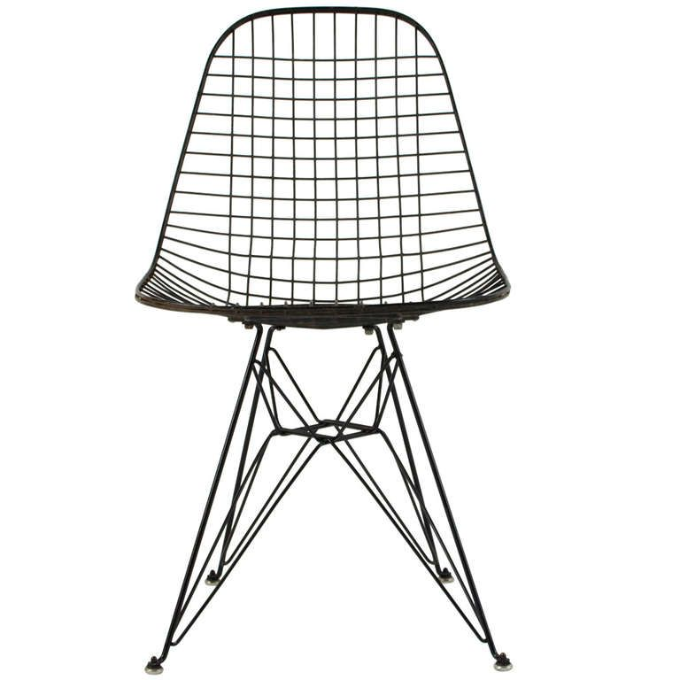 Marvelous Charles Eames Dkr Wire Chair 1950S Tattoos Wire Chair Evergreenethics Interior Chair Design Evergreenethicsorg