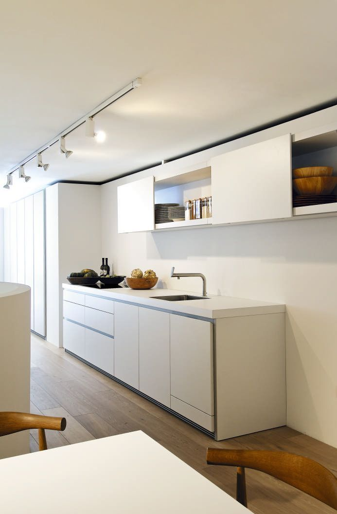 bulthaup - b1 keuken - de systeemhoogte van bulthaup b1 kan geheel - bulthaup küchen münchen