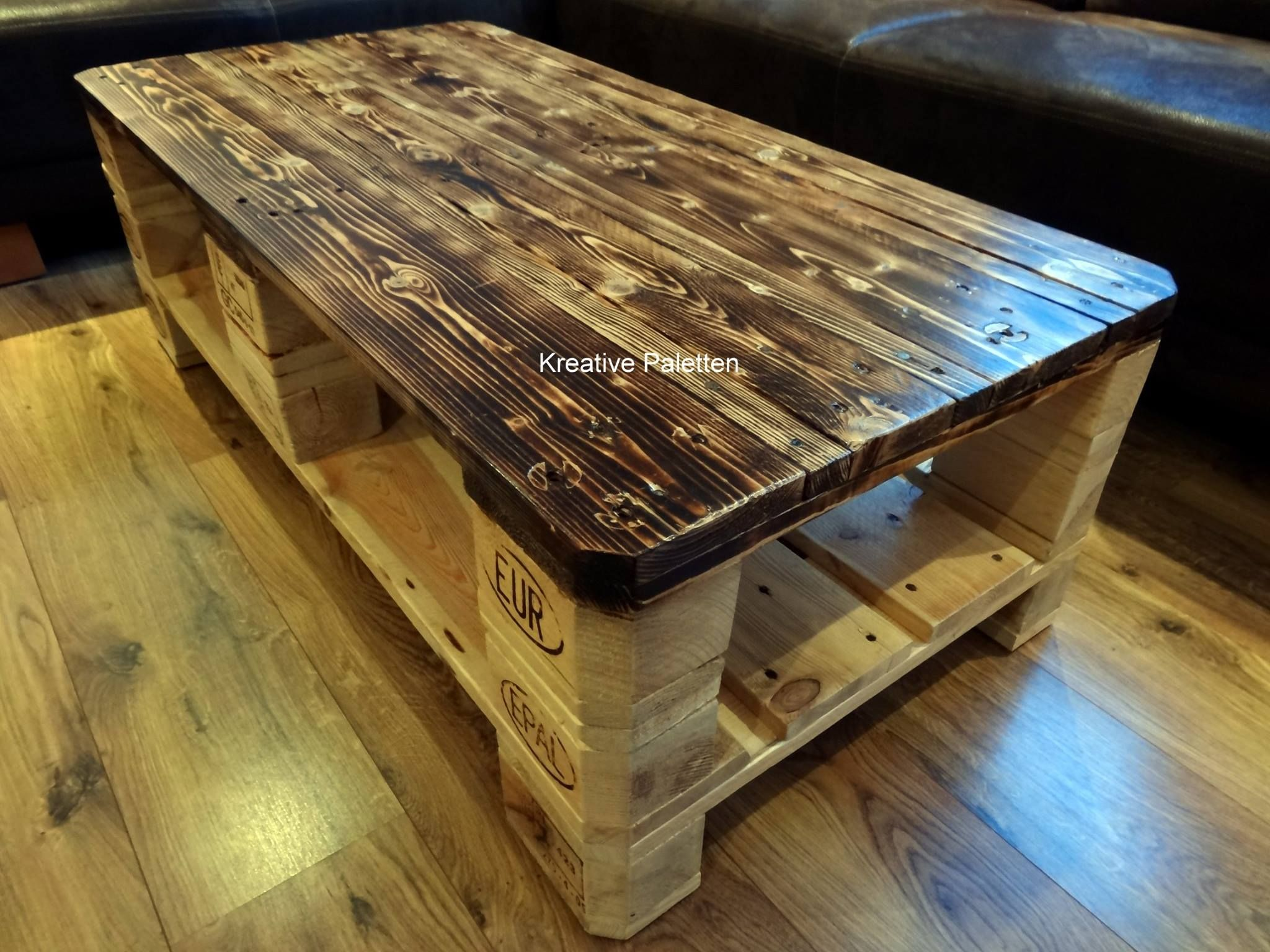 Euro Pallet Wood Coffee Table Furniture Projects Mesas